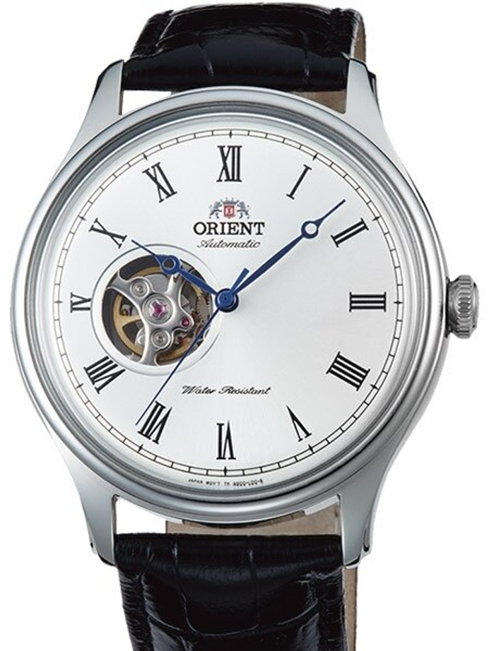 Orient Envoy Open-Heart Automatic Watch with Leather Strap #AG00003W