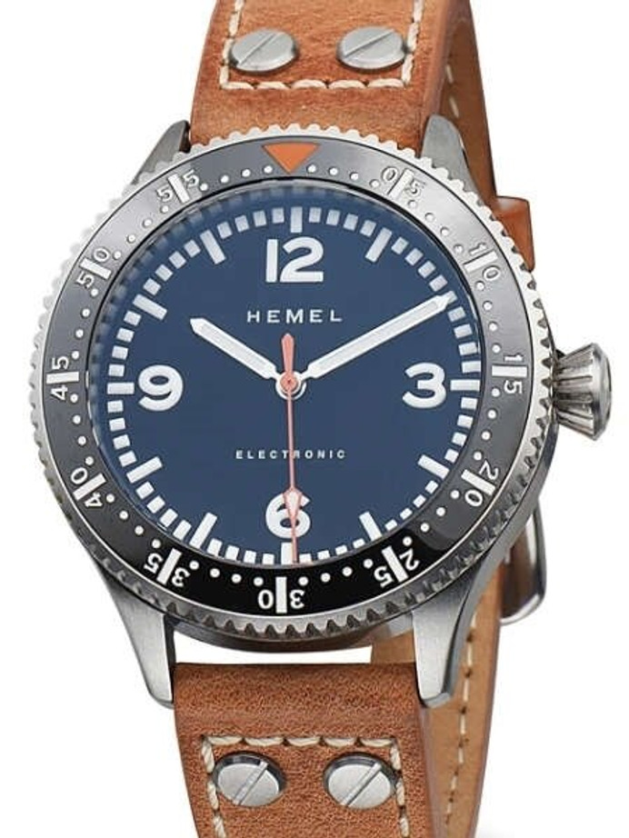 HEMEL Stratus Electronic Watch with Smooth Sweeping 60 Seconds Hand and AR Sapphire Crystal #HF6