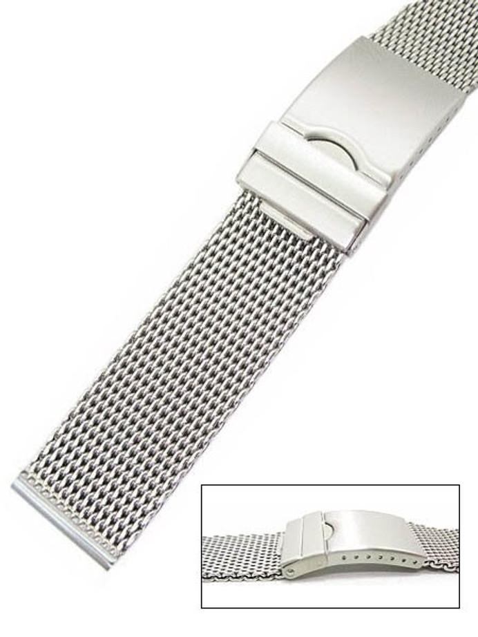 Vollmer Satin Finish Mesh Bracelet #99460H7S (20mm)