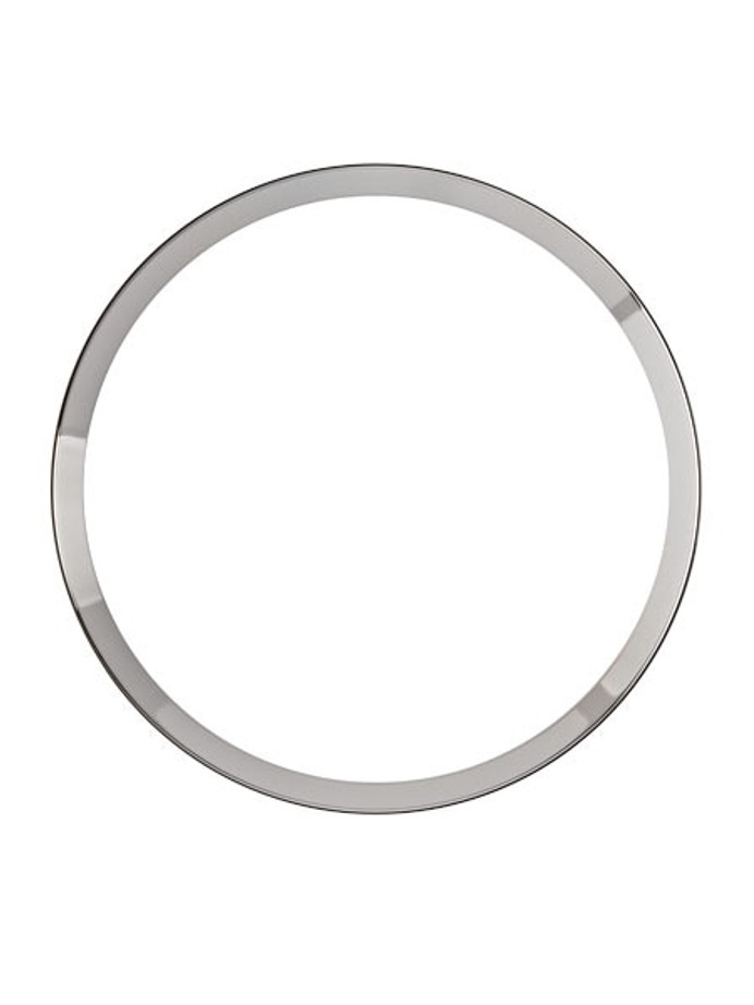 Polished Silver Chapter Ring for Seiko SKX007, SKX009, SKX011 Watches #R10