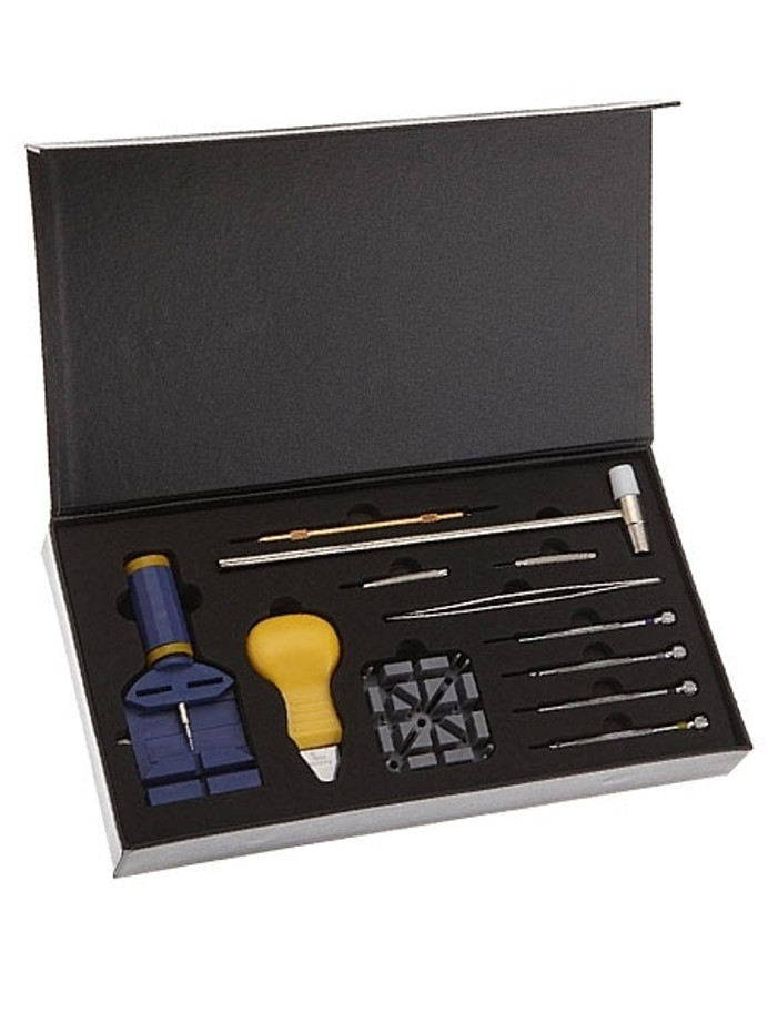 Watch Tool Kit with Storage Box for Strap Changes, Bracelet Sizing #TSA9005