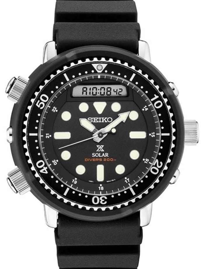 """Seiko """"Arnie"""" Prospex Tuna Dive Watch with Solar Movement and 47.5mm Case #SNJ025"""