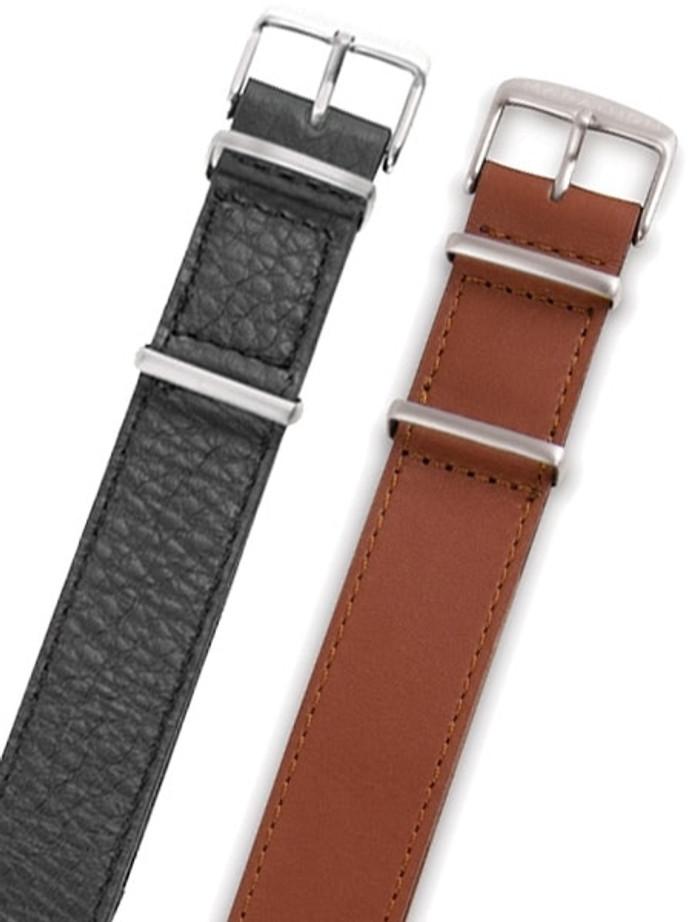 Marathon 20mm Leather One-Piece Strap #WW005009