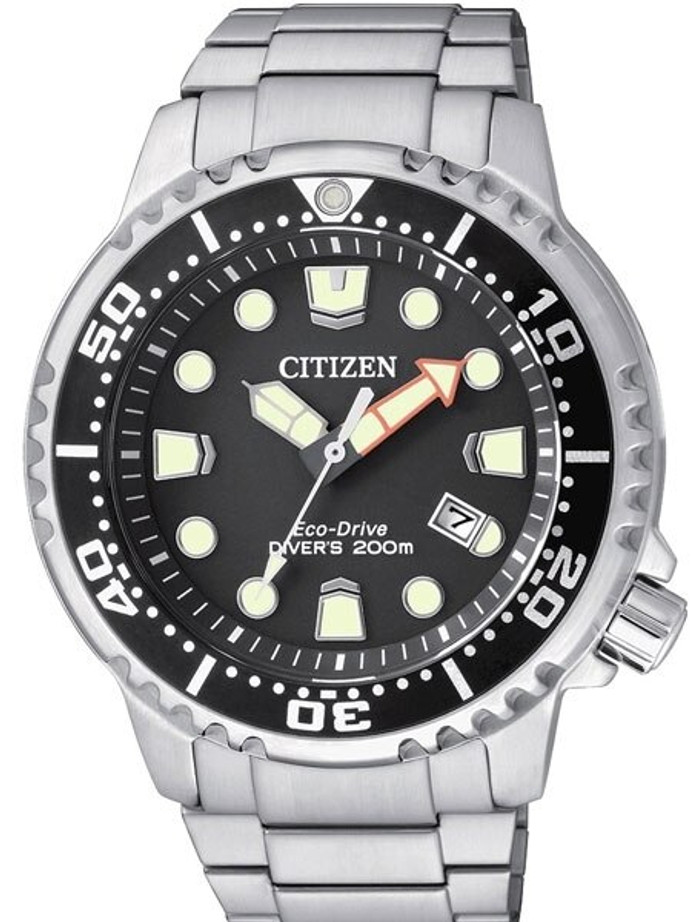 Citizen Eco-Drive Promaster Scuba Diver Watch with SS Bracelet #BN0150-61E