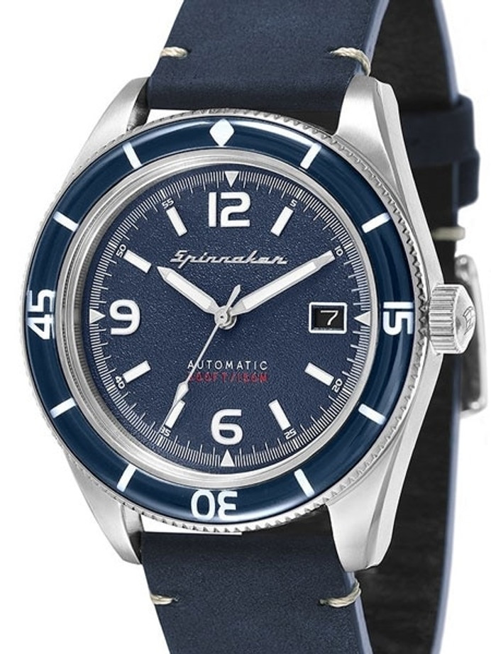 Spinnaker Fleuss Automatic Vintage Style Sports Watch with 43mm Case #SP-5055-03