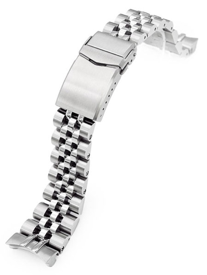 """Strapcode 22mm ANGUS-J """"Louis"""" 316L Stainless Steel Watch Bracelet for Orient Neptune #SS221820RP081"""