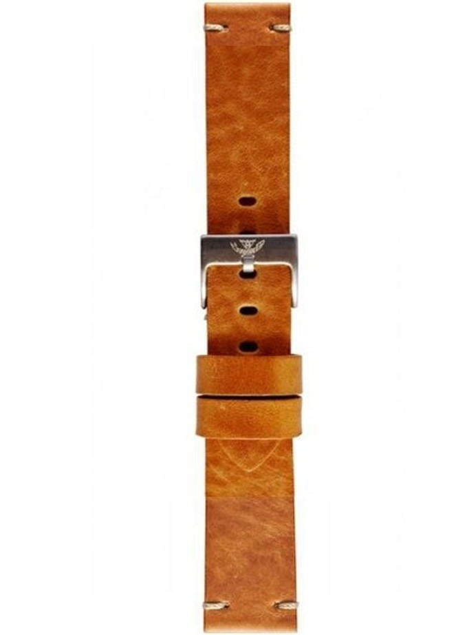 Squale 1521 OEM 20mm Tan Leather Watch Strap #1521-TAN-LTHR