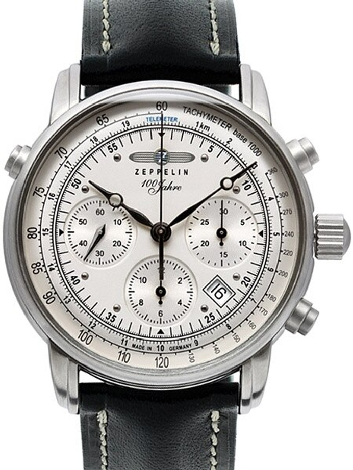 Graf Zeppelin Valjoux 7753 Automatic Chronograph Watch with Domed Sapphire Crystal #7618-1
