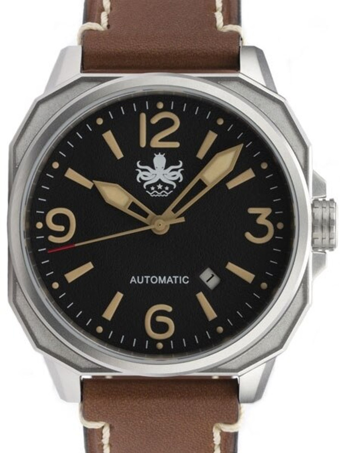 PHOIBOS Sentinel 200-Meter Automatic Watch with AR Sapphire Crystal #PY019C