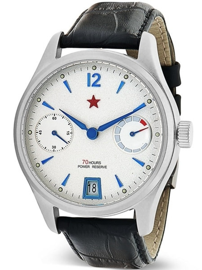 Red Star Automatic Watch with 70-Hour Power Reserve, Sapphire Crystal #7799G-A