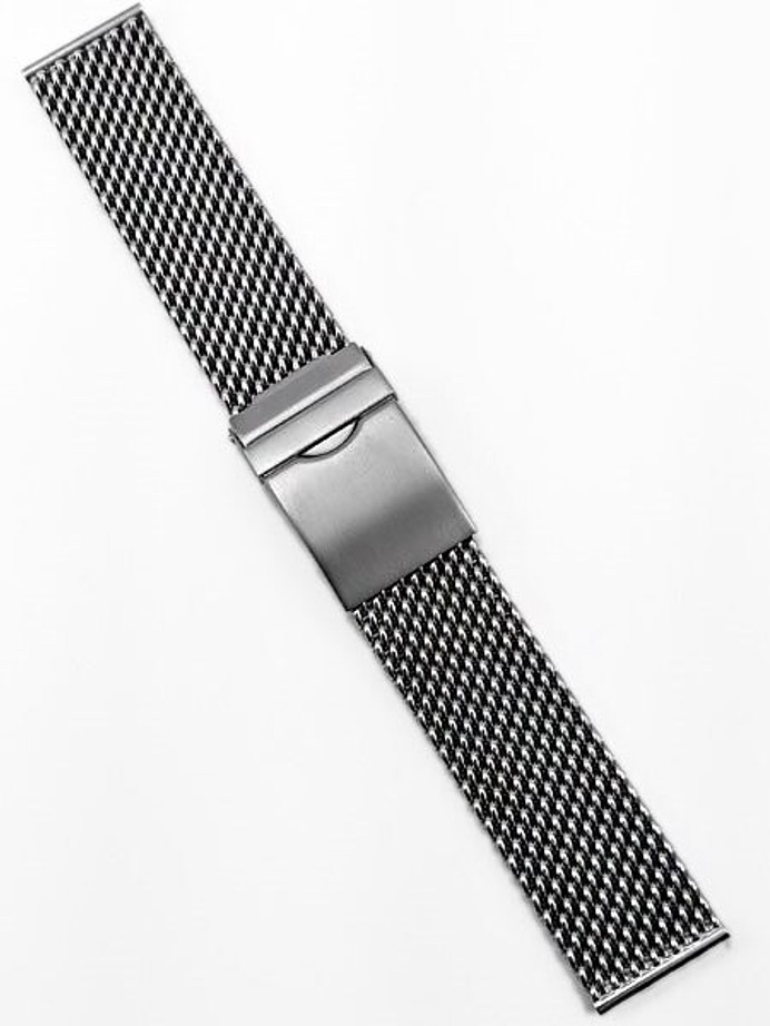 Vollmer Satin Finish Stainless Steel Mesh Bracelet #17002H7 (22mm)
