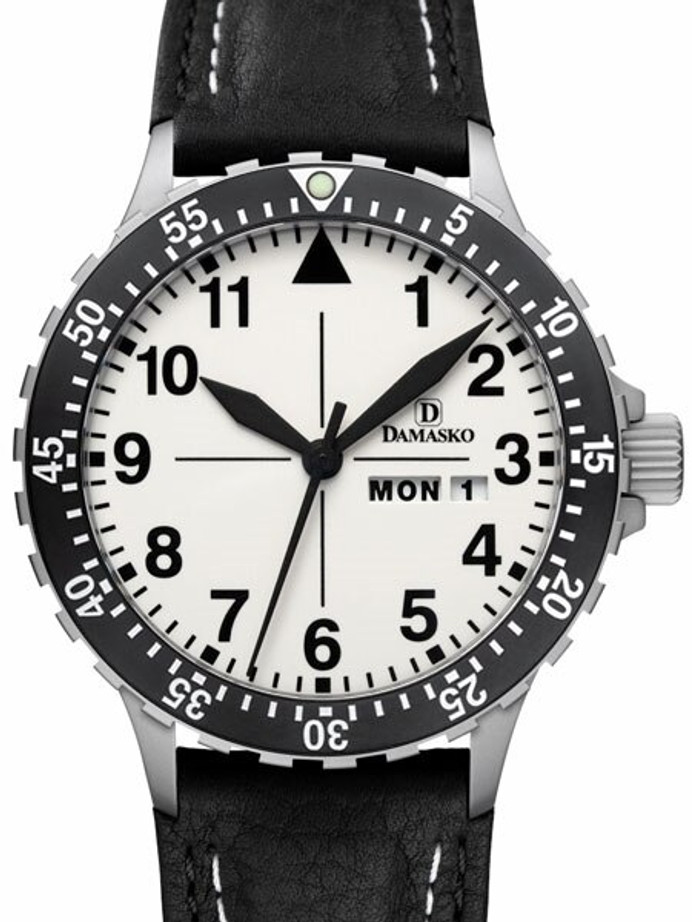 Damasko Swiss ETA Automatic with a Rotating 60-Minute Bezel and Fully Luminous Dial #DA47