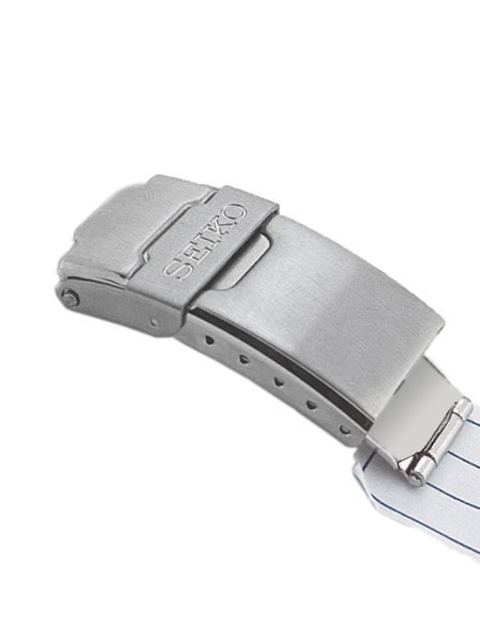 Seiko Genuine OEM Deployant Clasp for SKX007, SKX009, SKX175 Bracelet, Brushed Finish #44G1ZZBK
