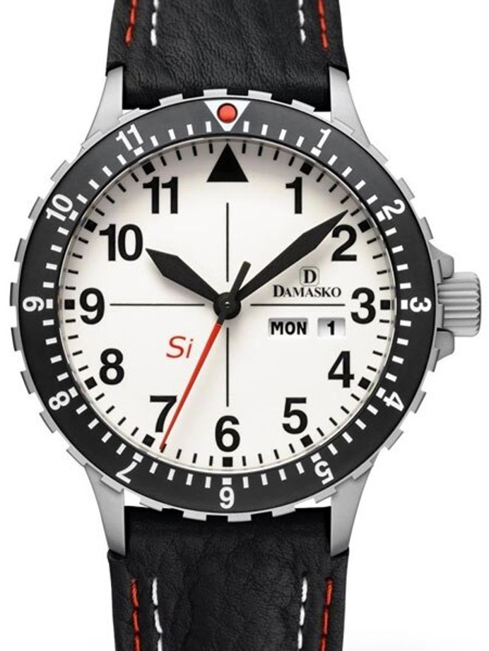 Damasko Si German Automatic Watch with a Rotating 12-Hour Bezel and Stainless Steel Case #DK11