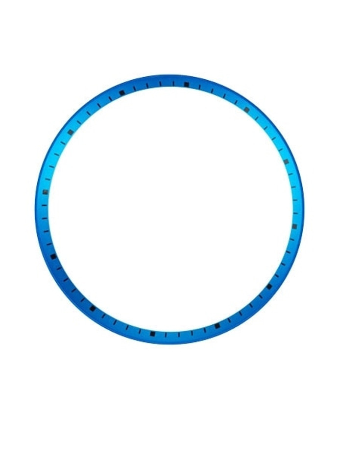 Matte Blue Chapter Ring for Seiko SKX007, SKX009, SKX011 Watches #R06