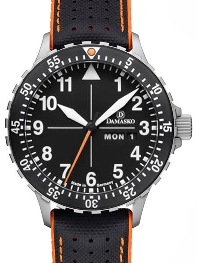 Damasko Swiss ETA Automatic with a Rotating 60-minute Bezel and Stainless Steel Case #DA42