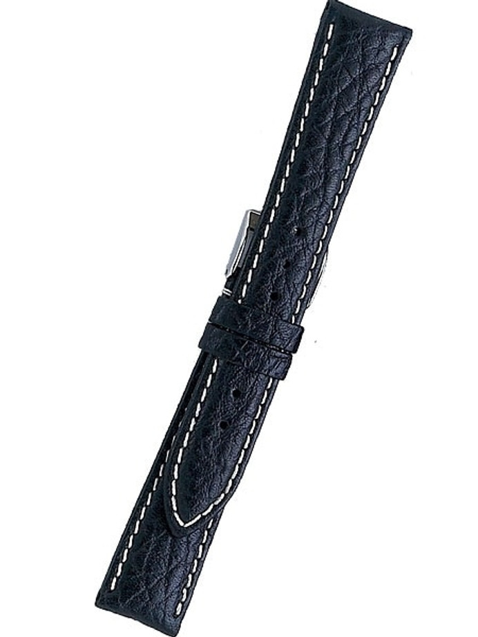 Aviator Distressed Black Leather with Heavy Padding, Waterproof #RA-62030