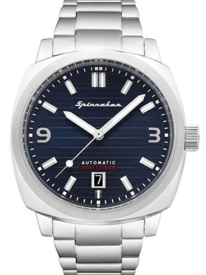 Spinnaker Hull Automatic Sports Watch with 42mm Case and Textured Dial #SP-5073-22