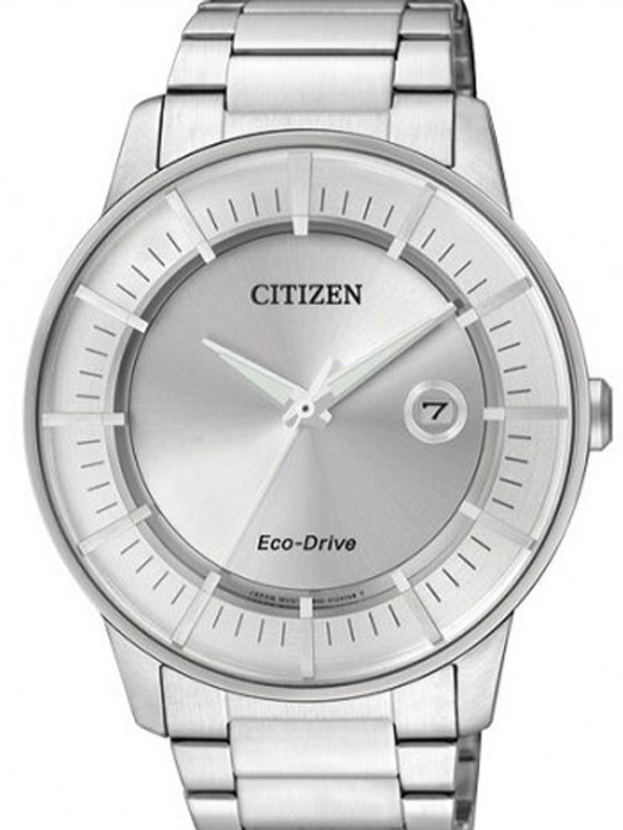 Citizen Eco-Drive Dress Watch with Silver Dial and 7-Month Power Reserve #AW1260-50A