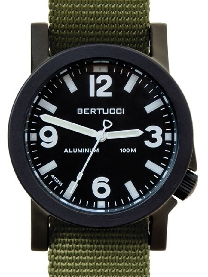 Bertucci Experior Anodized Aluminum Unibody Watch with Nylon Strap #16501