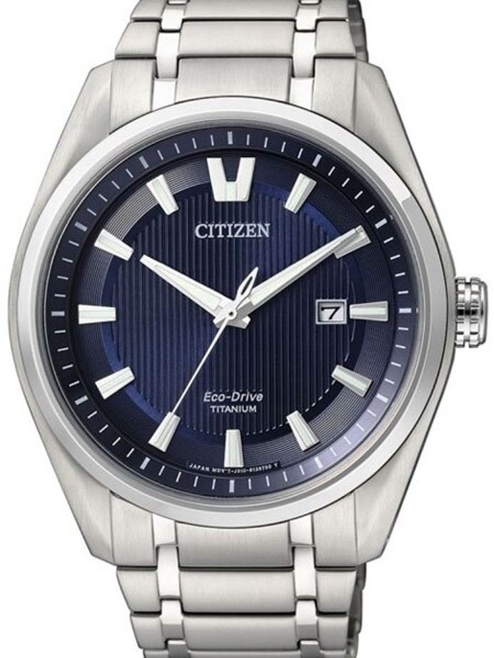 Citizen 42mm Titanium Eco-drive Watch with a 7-Month Power Reserve #AW1240-57L