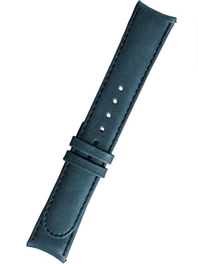 Formex 22mm ESSENCE Blue Leather Strap (without clasp) #CLBS.0330.744