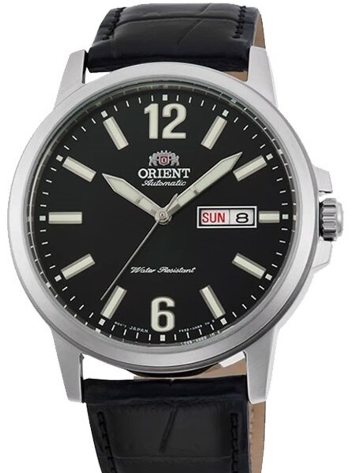 Orient 22-Jewel Automatic Watch with Hand Winding and Hacking #RA-AA0C04B19A