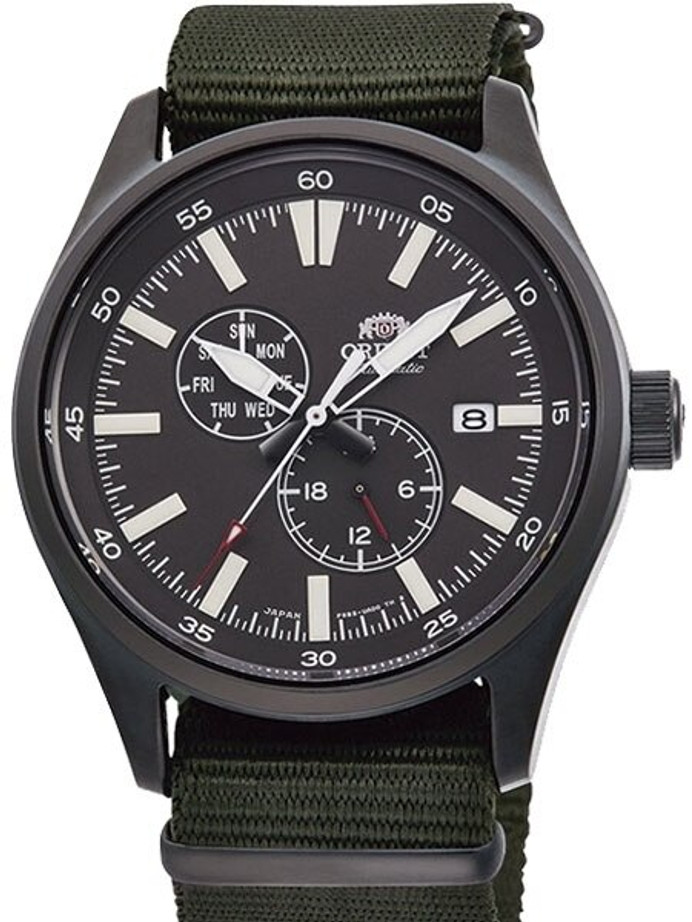 Orient Gen. II Automatic Field Watch with Hand Winding, and Hacking #RA-AK0403N10A