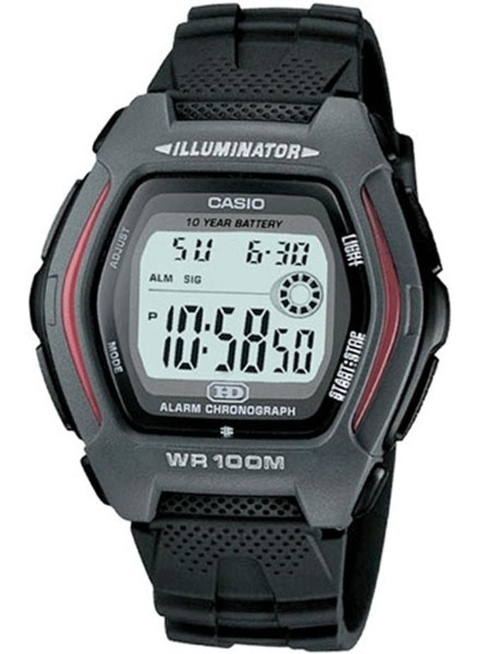 Casio Digital Quartz Chronograph Alarm Watch with a 10 Year Battery #HDD-600-1AV
