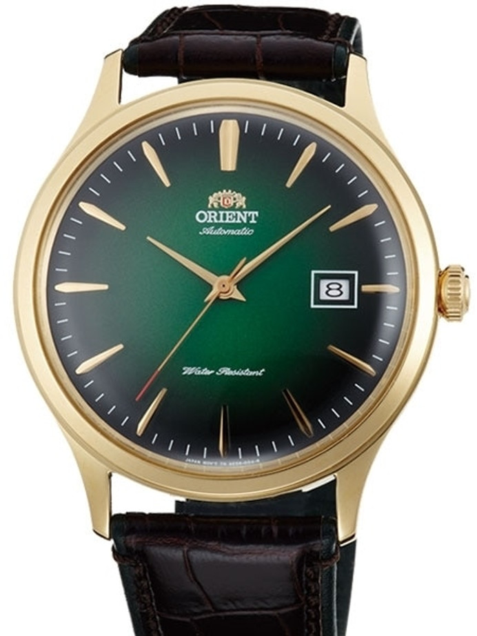 Orient Version 4 Automatic Dress Watch with Green Dial #AC08002F