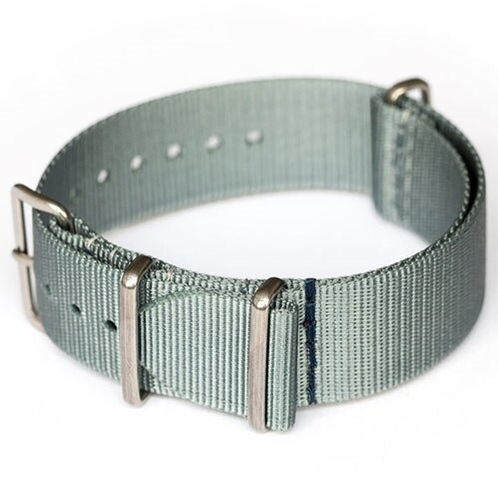 ADPT Sage Nylon Strap with 316L Stainless Steel Buckle and Keepers  #MSN-ADPTSAG