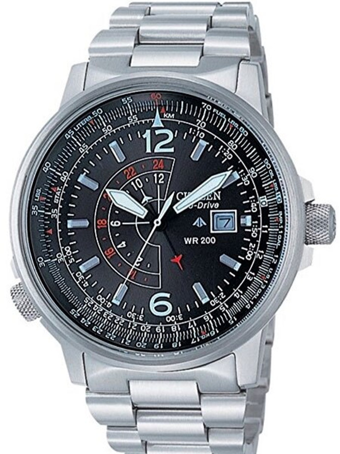 Citizen Promaster Eco-Drive Dual-Time Pilot Watch #BJ7010-59E