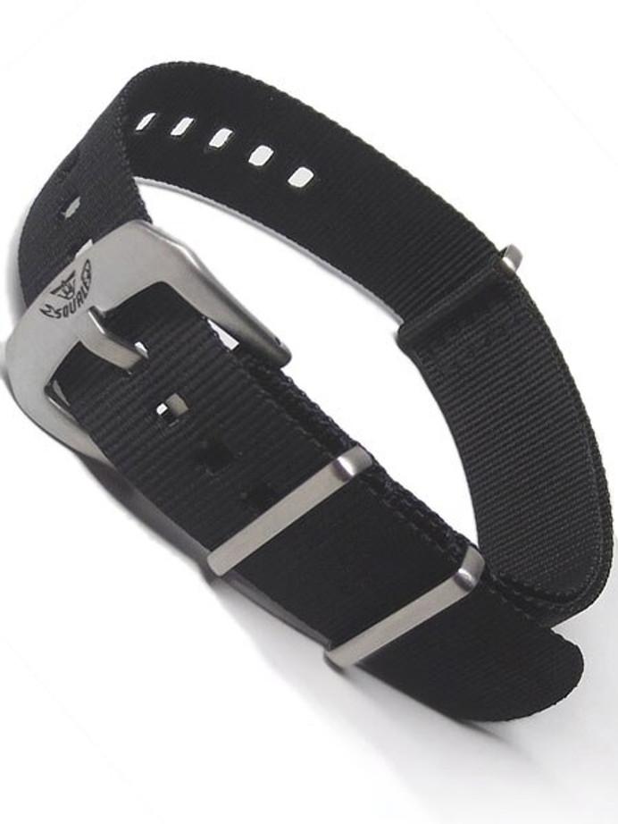 Squale Matic OEM 22mm Black NATO Nylon Watch Strap #MATIC-NATO-Black
