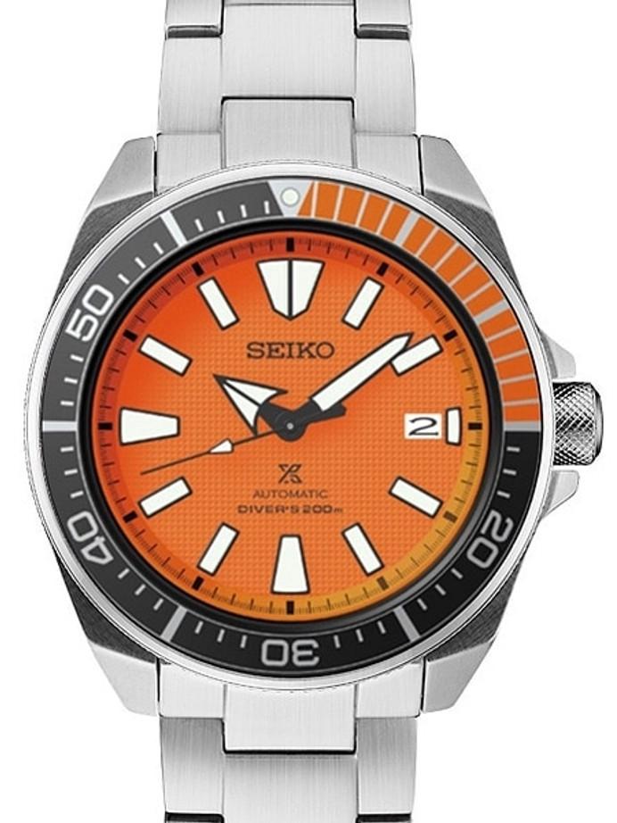 Customized Seiko Samurai Automatic Dive Watch #SRPC07
