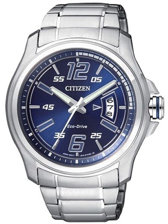 Citizen 43mm Eco-drive Watch with an 8-Month Power Reserve #AW1350-59M