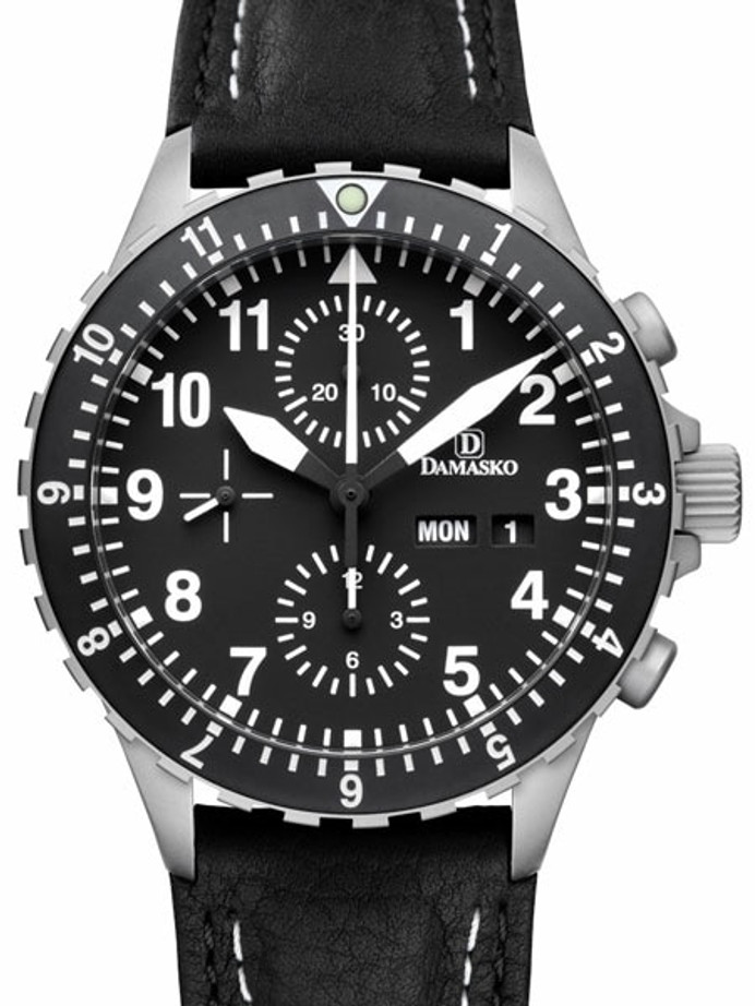 Damasko Swiss Valjoux 7750 Chronograph with Dual Time Bezel #DC66