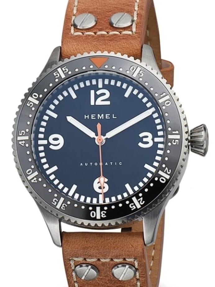 HEMEL Stratus Hi-Beat Automatic Watch with Luminous Ceramic Bezel and an AR Sapphire Crystal #HF7