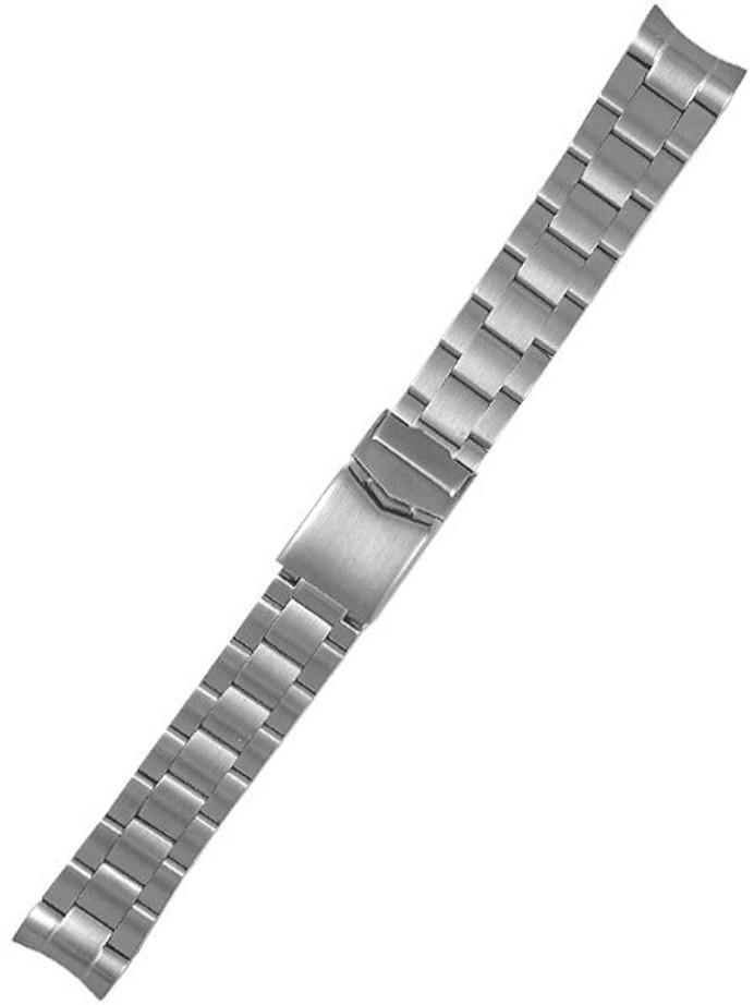 Vollmer Brushed Finish Bracelet with Deployant Clasp #17040H7 (20mm)