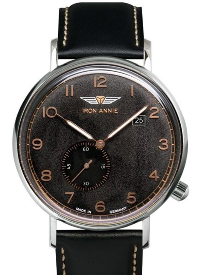 Iron Annie Amazonas Impression Swiss Quartz Dress Watch with Small Seconds, Date #5934-2