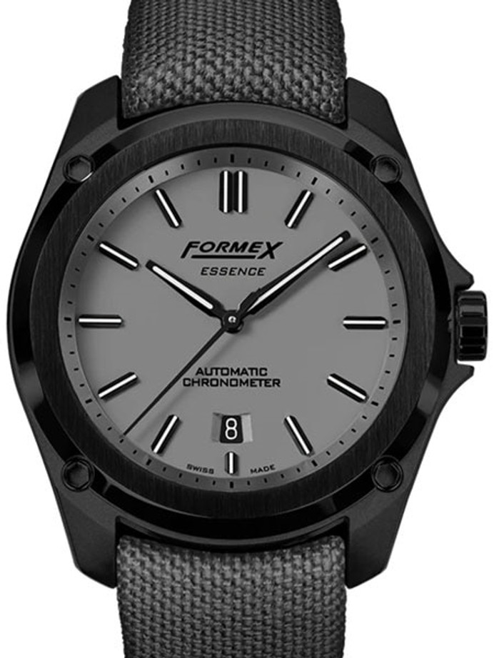Formex Essence Leggera Swiss Automatic Chronometer with Cool Grey Dial #0330-4-6309-833