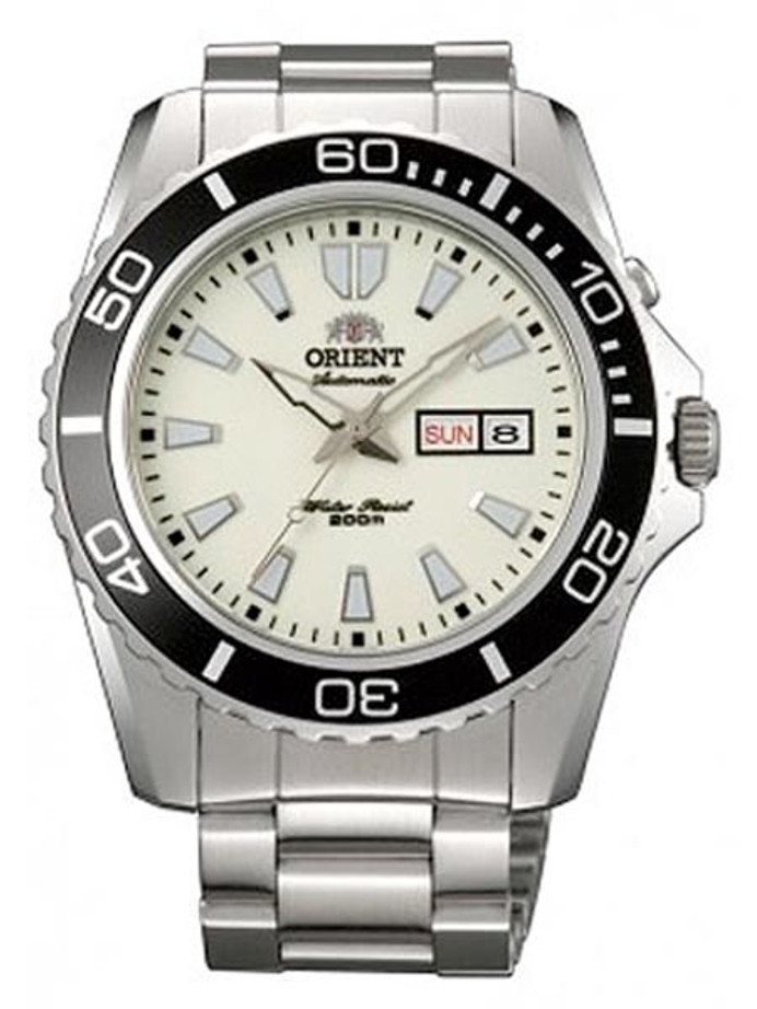 Orient Luminous Dial XL Automatic Dive Watch on a Bracelet #CEM75005R