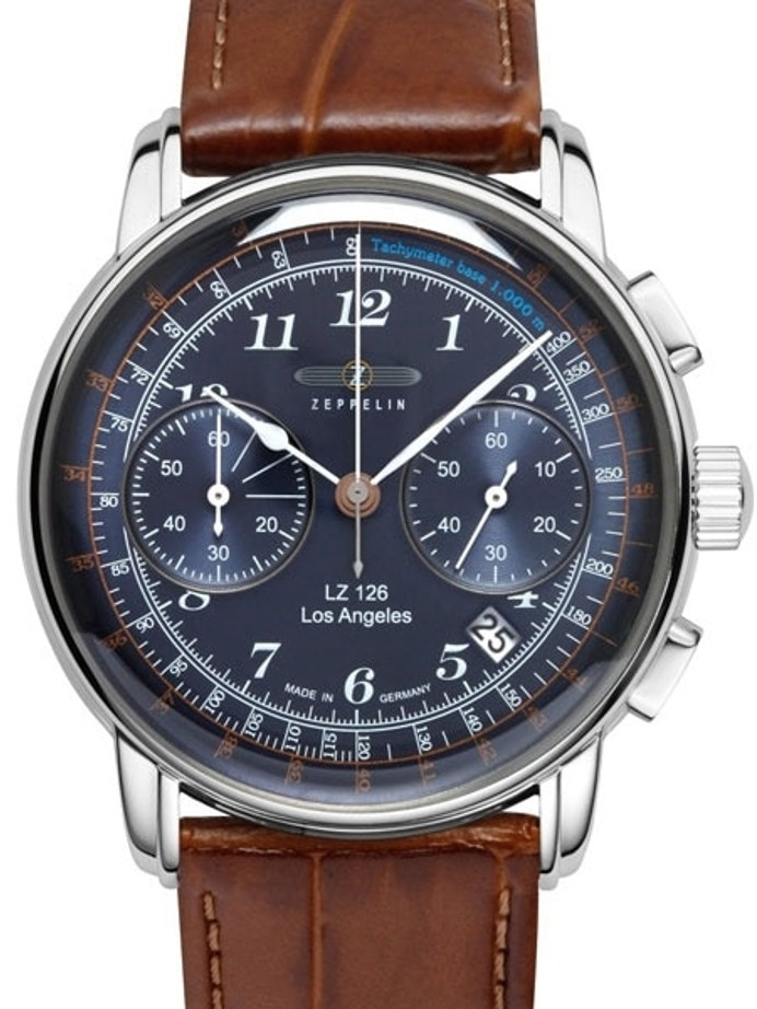 Graf Zeppelin LZ 126 Los Angeles Quartz Chronograph Watch #7614-3