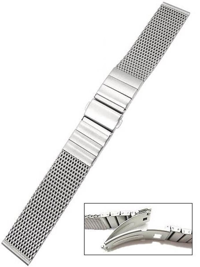 Vollmer Satin Finish Mesh Bracelet #0600SH7 (22mm)