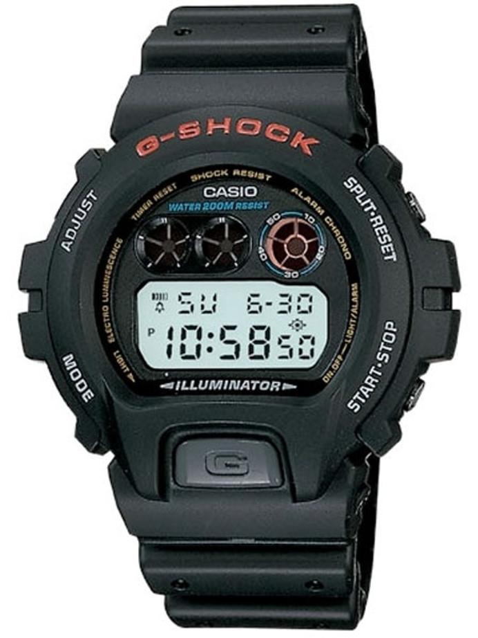 Casio G-SHOCK Multi-Function Chronograph Alarm Sport Watch #DW-6900-1V