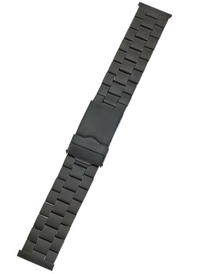 Vollmer Black PVD Bracelet with Deployant Clasp #03380H0 (20mm)