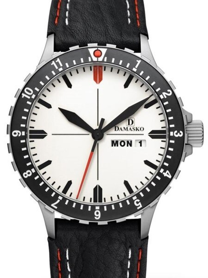 Damasko Swiss ETA Automatic with a Dual-Time 12 Hour Bezel and Fully Luminous Dial #DA45