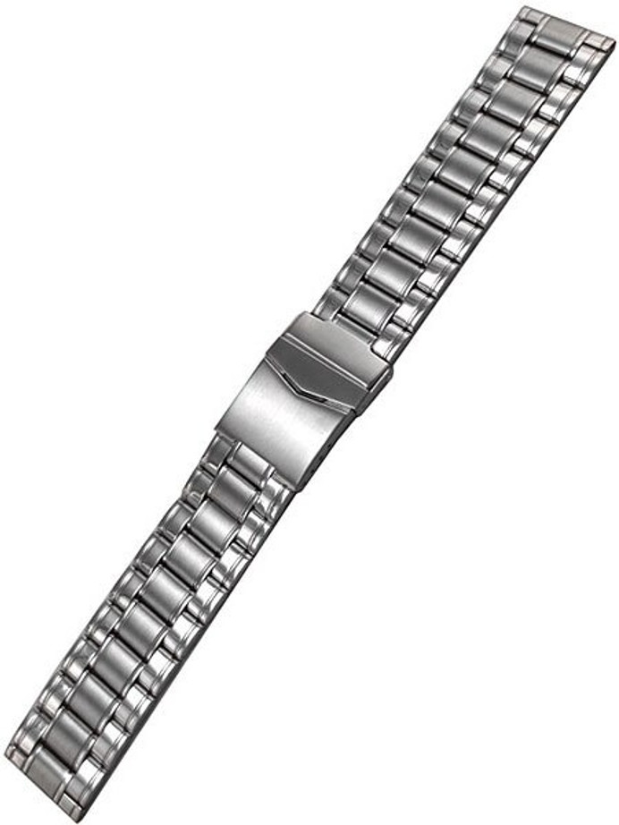 Vollmer Polished and Satin Finished Bracelet with Deployant Clasp #16030H4 (20mm)