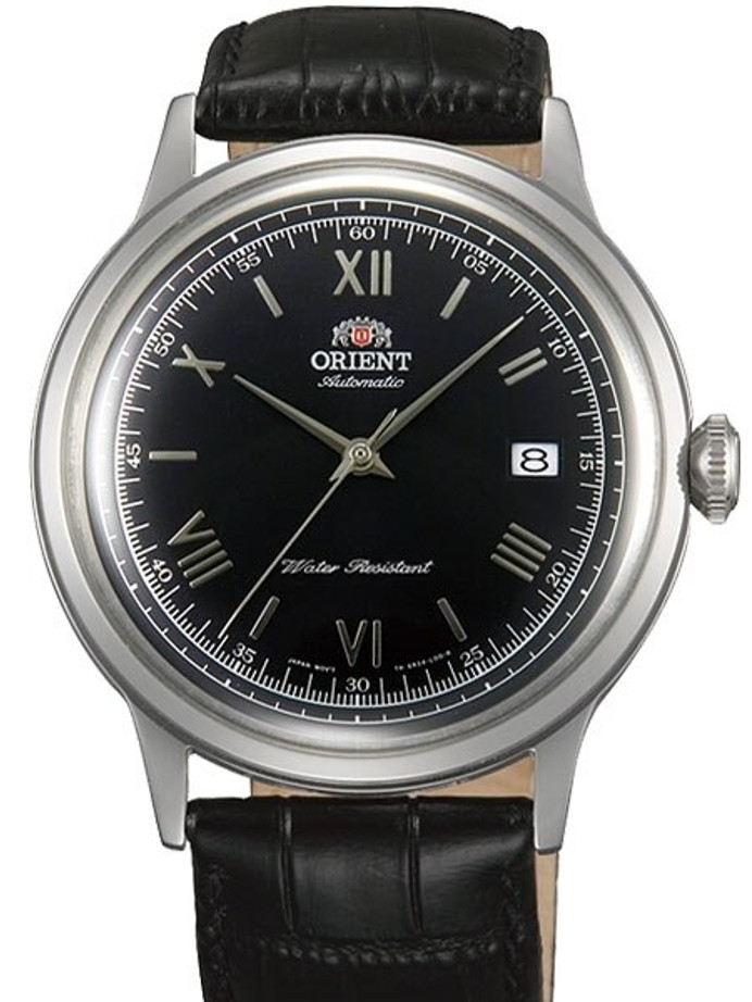 Scratch and Dent - Orient 2nd-Gen Automatic Dress Watch with Black Dial, Silver Hands #AC0000AB