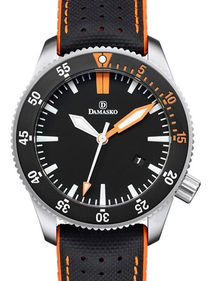 Damasko Swiss ETA Automatic 300 Meter Dive Watch with 43mm Submarine Steel Case #DSub3