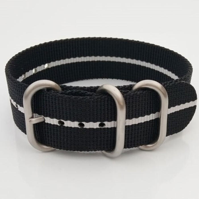 3-Ring Nylon Tactical Field Strap with Matte Finish Steel Buckle #TFS-25-SS